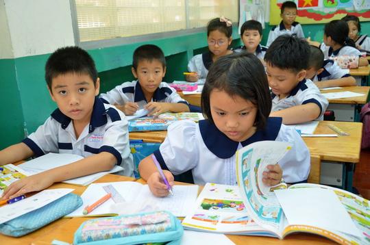 Đề thi 8 tuần kì 1 năm 2017 môn Toán lớp 4 - Tiểu Học Nguyễn Viết Xuân