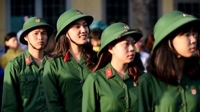 Thông tin mới nhất về tuyển sinh các trường quân đội năm 2018