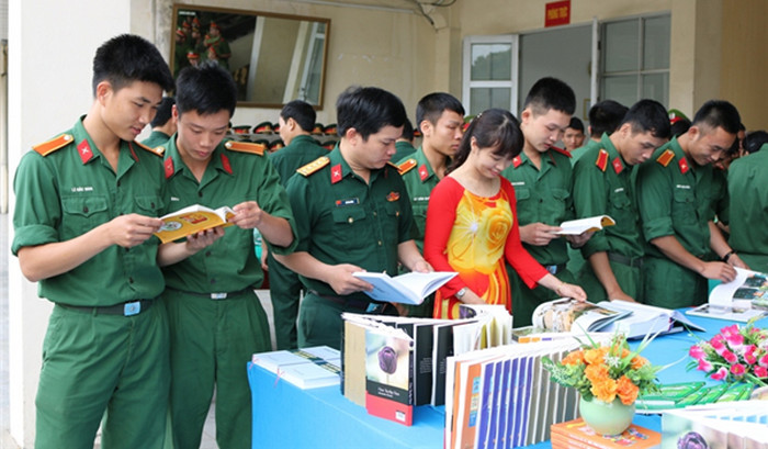 Trường sĩ quan chính trị tuyển 565 chỉ tiêu năm 2018