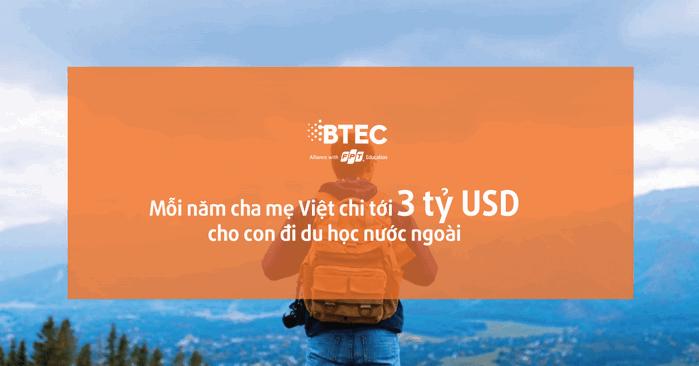 Cha mẹ Việt sẵn sàng chi 3 tỉ USD mỗi năm để con đi du học nước ngoài