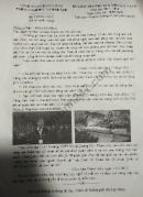 Đề thi kì 2 lớp 8 môn Văn 2018 - huyện Bình Chánh