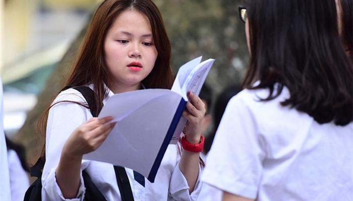 Công bố số nguyện vọng xét tuyển theo khối thi năm 2018