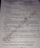 Đáp án đề thi vào lớp 10 môn Toán tỉnh Hải Dương 2018