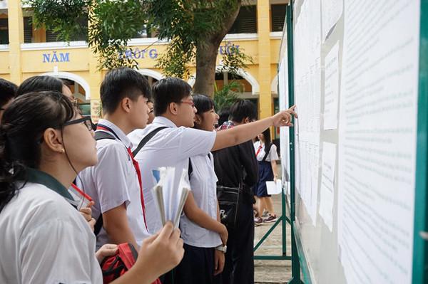 Trường THPT Chuyên Thái Nguyên công bố điểm trúng tuyển vào lớp 10 năm 2018-2019