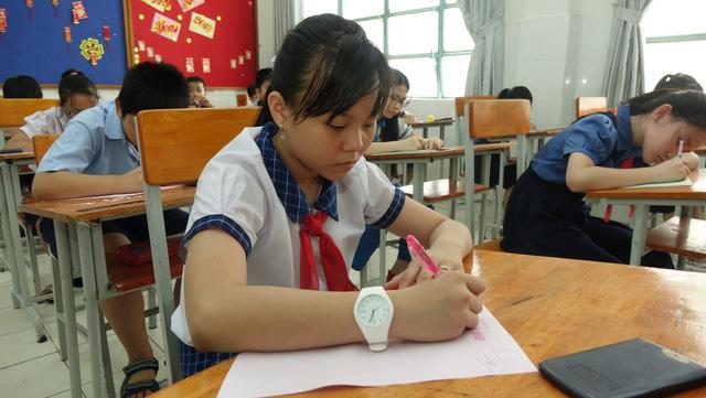 Trường THPT chuyên Trần Đại Nghĩa công bố điểm thi vào lớp 6 năm 2018
