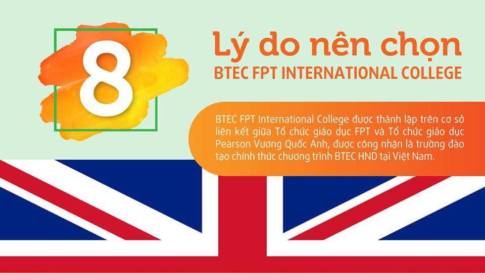 8 Lí do nên chọn Cao đẳng Quốc tế BTEC FPT – BTEC FPT International College