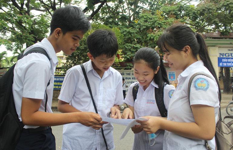 Trường THPT Chuyên Chu Văn An tỉnh Bình Định công bố điểm chuẩn vào lớp 10 năm 2018