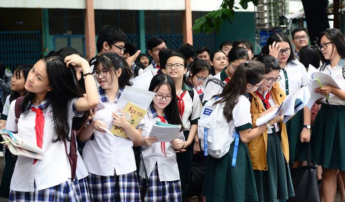 Điểm chuẩn vào lớp 10 trường THPT chuyên tỉnh An Giang 2018