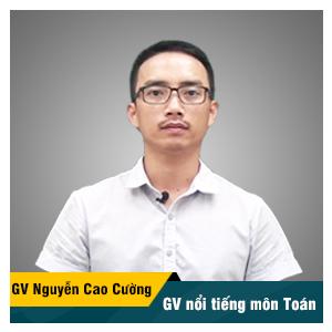 Thầy Nguyễn Cao Cường