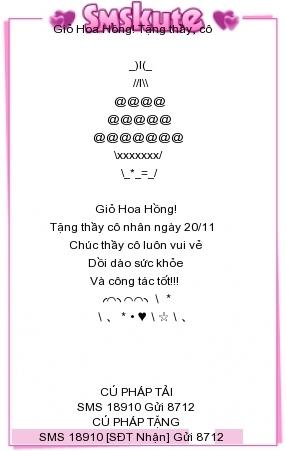 Ngay Nha giao Viet Nam 20/11: Nhung loi chuc thay co hay va y nghia nhat (P.1)