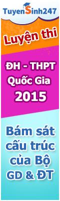 uyen thi dai hoc - THPT Quoc gia 2015