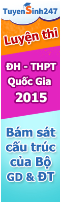 luyen thi dai hoc - THPT Quoc gia 2015