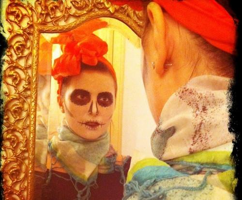 Huong dan trang diem Halloween cuc don gian
