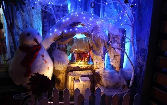Cach lam hang da Noel dep va don gian nhat