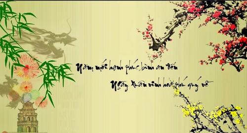 Nhung cau doi  tet 2017 - Xuan Dinh Dau mang lai may man