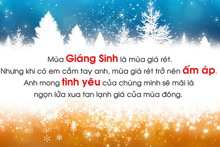 Cach viet thiep Giang Sinh y nghia nhat