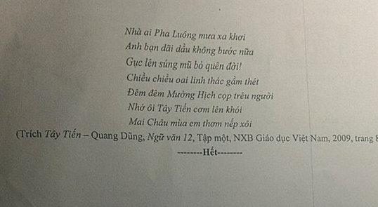 De thi thu THPT Quoc gia mon Van - Chuyen Tran Phu 2018 (Co dap an)