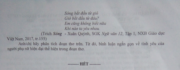 De thi thu THPT Quoc gia mon Van 2018 So GD Hung Yen