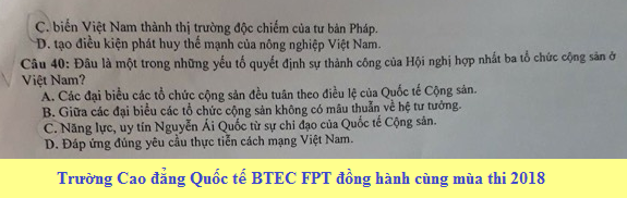 De thi thu THPTQG mon Su 2018 Chuyen Phan Boi Chau lan 1