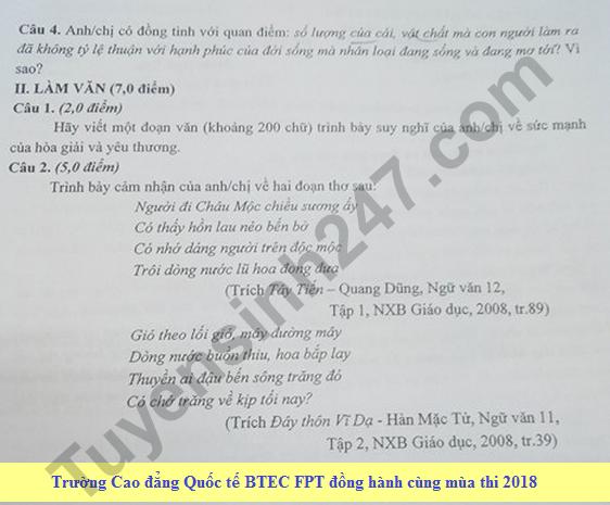 De thi thu THPT Quoc gia mon Van Chuyen Luong Van Chanh 2018