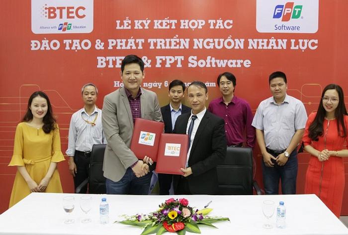 Cao dang Quoc te BTEC FPT hop tac dao tao cung FPT Software