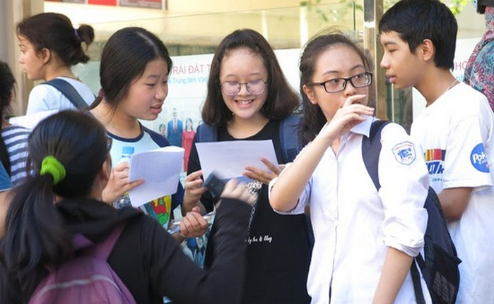 Tuyen sinh vao lop 10 nam 2018: Tiep tuc duoc cong diem nghe