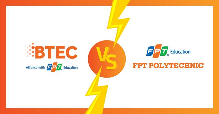 So sanh CD Quoc te BTEC FPT va CD thuc hanh FPT Polytechnic