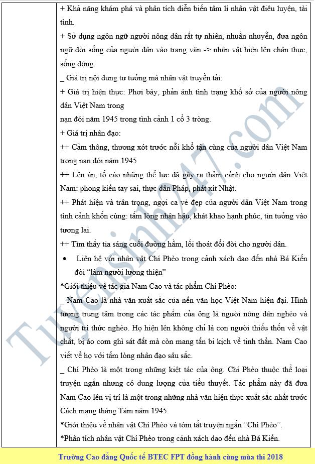 De thi thu THPT QG mon Van lan 4 nam 2018 - THPT Chuyen Vinh Phuc