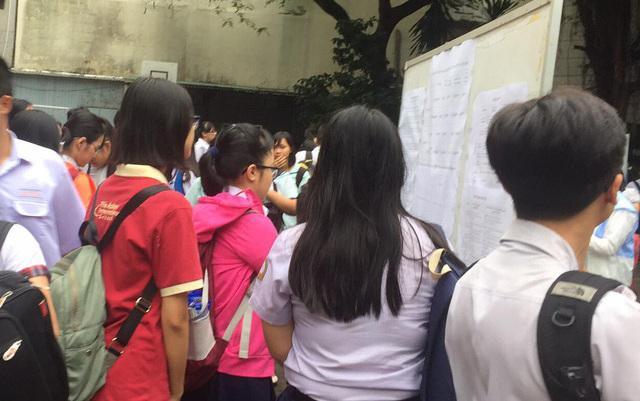 Khi nao cong bo diem thi vao lop 10 TPHCM 2018?