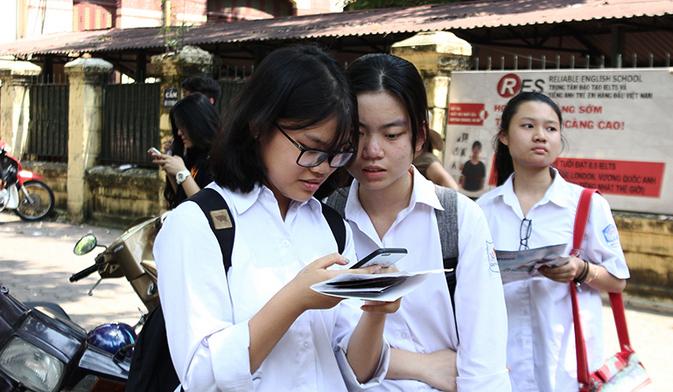 Khi nao cong bo diem chuan vao lop 10 TPHCM 2018?
