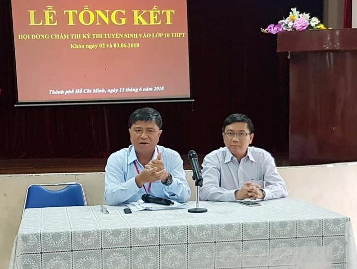 Diem chuan lop 10 HCM 2018 khong co dot bien?