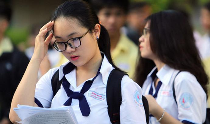 Bo GD khong cong bo dap an ngay sau khi thi sinh ra khoi phong thi