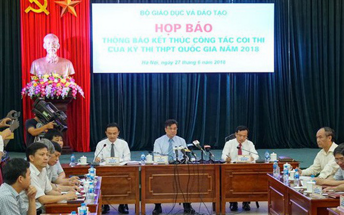 Bo GD khang dinh de thi THPTQG 2018 tang do kho