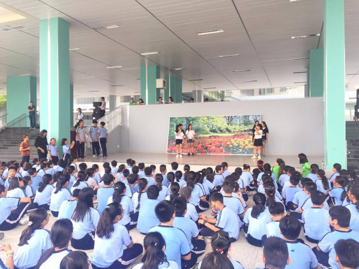 Truong THCS Nguyen Van To - TP.HCM cong bo ke hoach tuyen nam hoc 2018