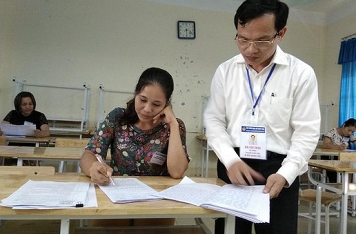 Diem thi THPT Quoc gia 2018: Khong duoc cong bo truoc ngay 11/7