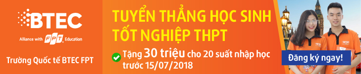 BTEC FPT to chuc Le ton vinh sinh vien xuat sac hoc ki Spring 2018