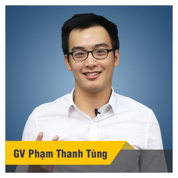 Thầy Tùng - Khóa luyện thi THPTQG môn Hóa học năm 2020