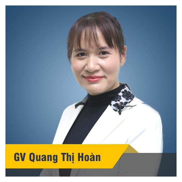 Cô Hoàn - Khóa tiếng Anh lớp 7 SGK chương trình mới