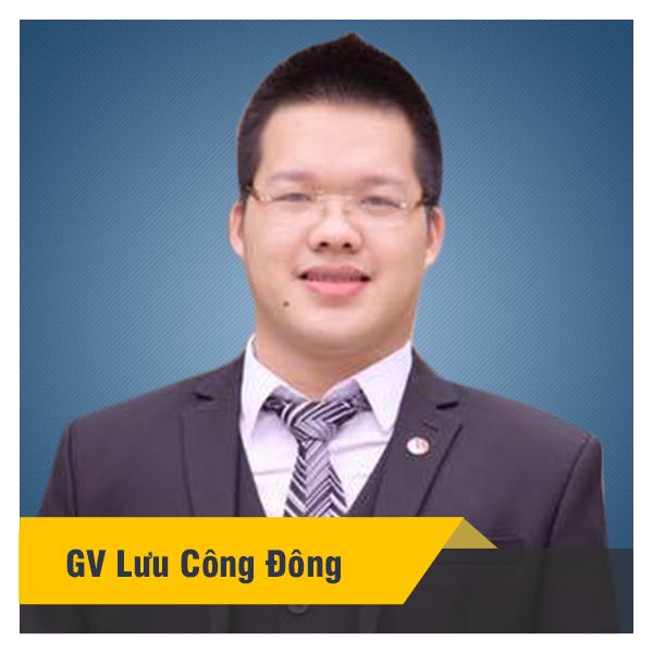 Khóa luyện thi lớp 9 vào 10 chuyên năm 2019 - thầy Lưu Công Đông