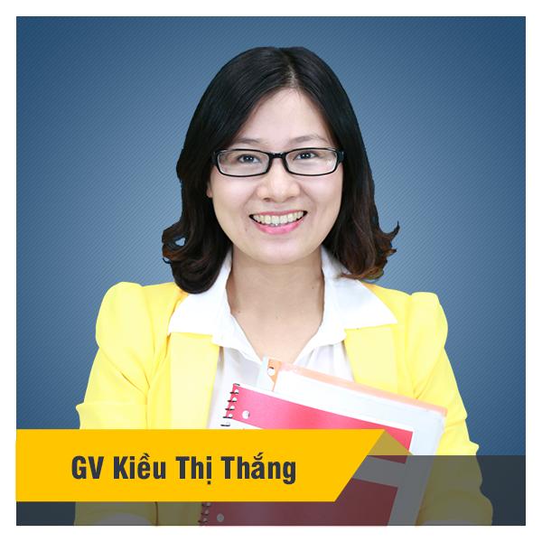 Cô Kiều Thắng - Khóa luyện đề thi THPT quốc gia tiếng Anh năm 2019 - có video chữa