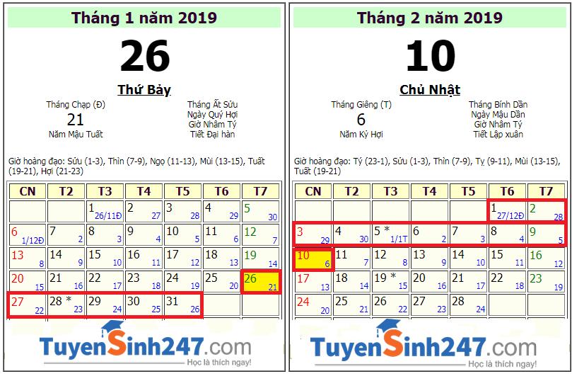Hoc sinh TPHCM nghi tet am lich 2019 - Ky Hoi la 16 ngay