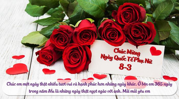 Nhung tam thiep chuc mung ngay Quoc te phu nu 8/3 y nghia nhat