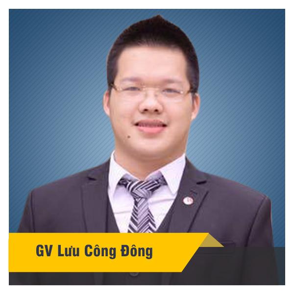 Khóa luyện thi lớp 9 vào 10 chuyên năm 2020 - thầy Lưu Công Đông