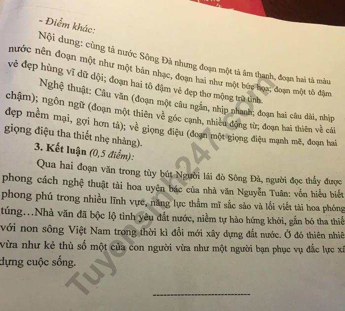 De thi thu THPTQG 2019 mon Van - Chuyen Khoa Hoc Tu Nhien lan 3 (co dap an)