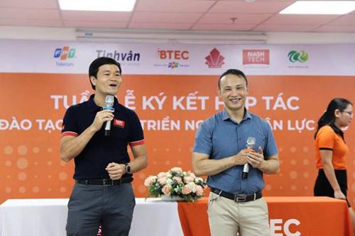 Sinh vien BTEC FPT co co hoi lam tai cong ty cong nghe hang dau Viet Nam
