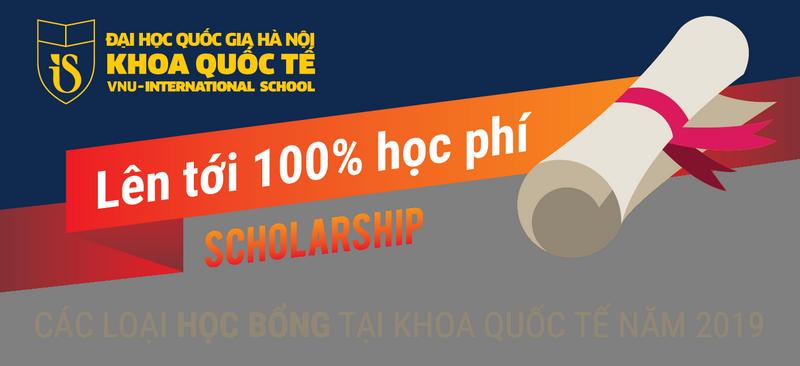 50 suat hoc bong danh cho tan sinh vien Khoa Quoc te nam 2019