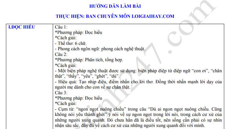 De thi ki 1 mon Van lop 11 nam 2019 - Tan Chau