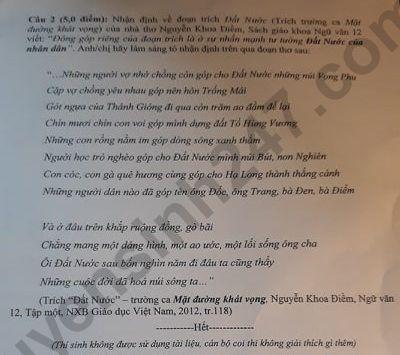 De thi thu mon Van Chuyen Hoang Van Thu THPTQG 2020 lan 1