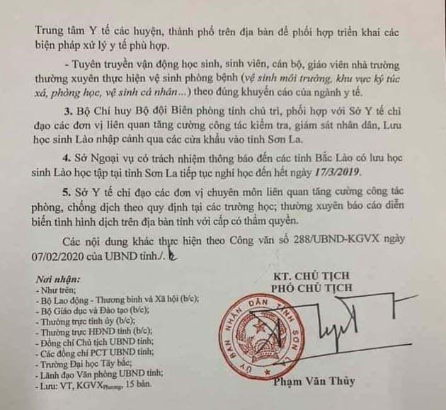 Tinh dau tien cho hoc sinh THPT tiep tuc nghi het ngay 17/3 sau 1 ngay di hoc