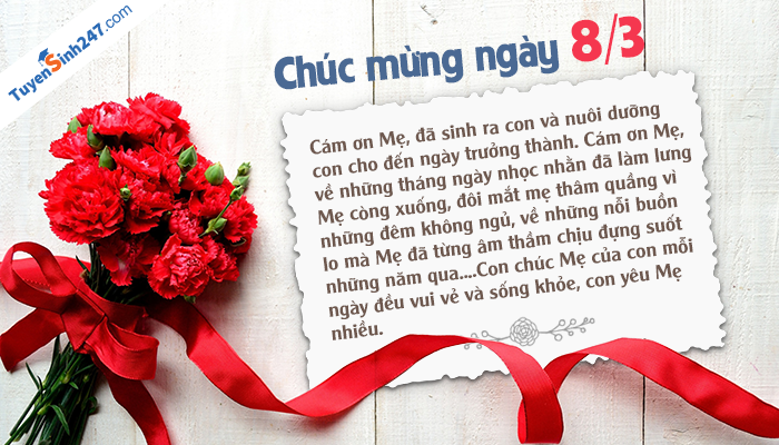 Bo thiep chuc mung 8/3 ngay Quoc te phu nu dep nhat